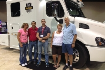 Bolt_team_with_Bob_and_Linda_Caffee's_new_truck