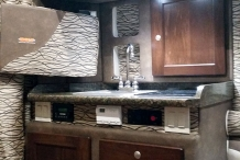 100inch sleeper interior kitchen