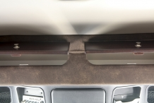 damaged truck front cabinets