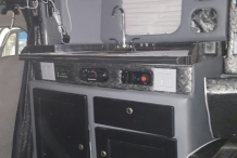 Bolt 100in sleeper tornado truck interior3
