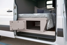 Sprinter van under bed